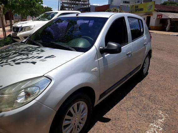 Renault Sandero, 1.6, 16v, Hi-flex, 2009/2010. Completo