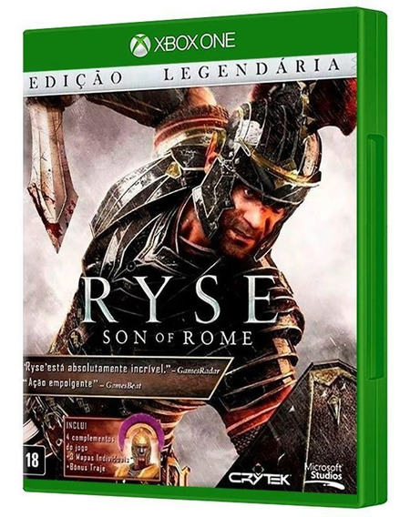 Ryse: Son Of Rome Xbox One [ Mídia Física E Original ]