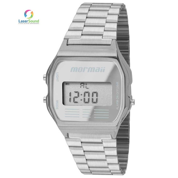Relógio Mormaii Unissex Mojh02aa/3c, C/ Garantia E Nf