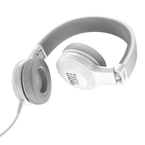 Fone De Ouvido Headphone Jbl E35 Dobrável Branco Original