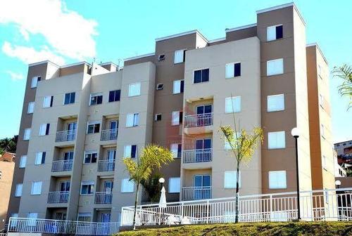 Imagem 1 de 18 de Apartamento Com 3 Dormitórios À Venda, 53 M² Por R$ 220.000,00 - Jardim Nova Vida - Cotia/sp - Ap0581