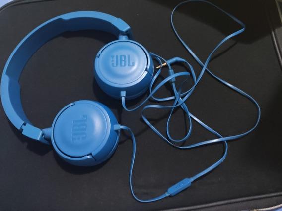 Headphone Jbl Com Fio Azul