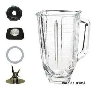 Vaso Cristal Vidrio Completo De Licuadora Osterizer Env. Inm