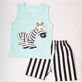 Conjunto Infantil Menino Zebra