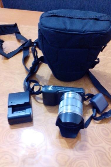 Camera Profissional Sony Alpha Nex-3 Com Lente 18-55mm