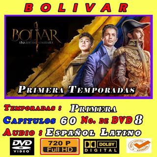 Bolivar La Serie En 8 Dvd Hd,
