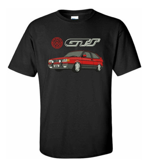 Camiseta Bordada Gol Gts Volkswagen