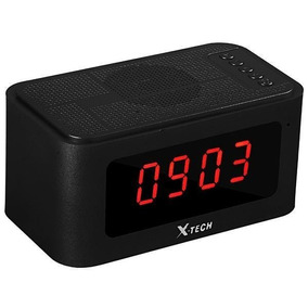 Radio Relogio Digital X-tech Bluetooth Usb Sd Fm
