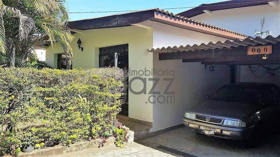 Casa Com 4 Dormitórios À Venda, 291 M² Por R$ 750.000,00 - Barão Geraldo - Campinas/sp - Ca4457