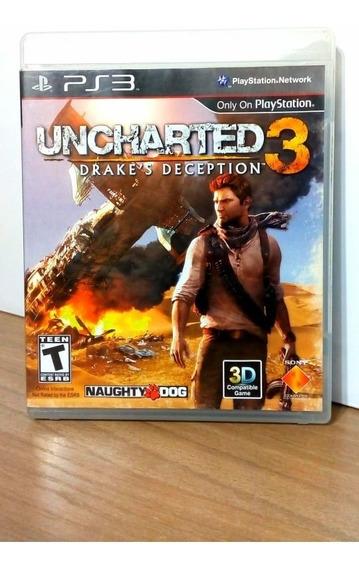 Uncharted 3 Ps3 Usado