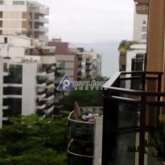 Flat À Venda, 2 Quartos, 1 Vaga, Leblon - Rio De Janeiro/rj - 7877