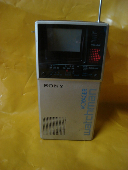 Tv Sony Mini Tv Fd-20aeb - Voyager Watchman - Impecavel - Ok