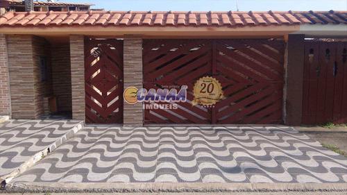 Casa Com 2 Dorms, Itaguaí, Mongaguá - R$ 200 Mil, Cod: 6340 - V6340