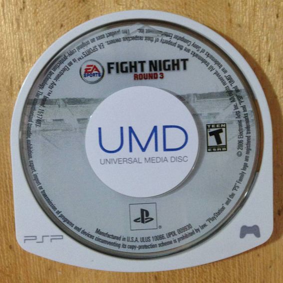 Fight Night Round 3 Sony Psp