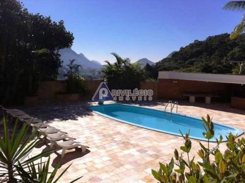 Casa À Venda, 5 Quartos, 5 Suítes, 6 Vagas, Gávea - Rio De Janeiro/rj - 1580