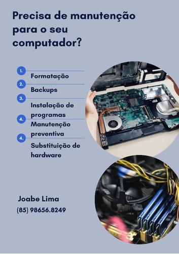 Imagem 1 de 1 de Precisa De Manutenção Para O Seu Computador?