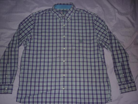 L Camisa Chaps Ralph Lauren Violeta Talle Xl Art 73102