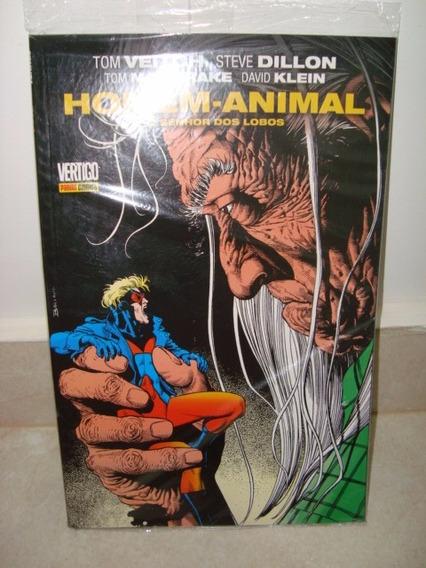 Homem Animal O Senhor Dos Lobos Hq Panini 06