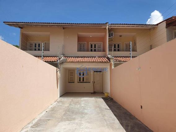 Casa Com 3 Dormitórios Para Alugar, 144 M² Por R$ 1.250/mês - Maraponga - Fortaleza/ce - Ca0941