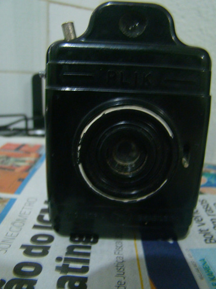 Antiga E Rara Câmera Fotográfica Plik Ver Descrição