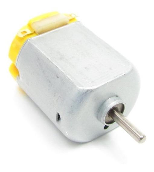 Mini Motor 130 Dc 6v 12500 Rpm Arduino Robótica Automação