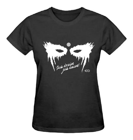 Camiseta Baby Look Feminina Series The 100 Camisa Tshirt