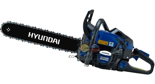 Hyundai Motosierra Motor Gasolina 24¨ 2 Tiempos 72cc 4.3 Hp