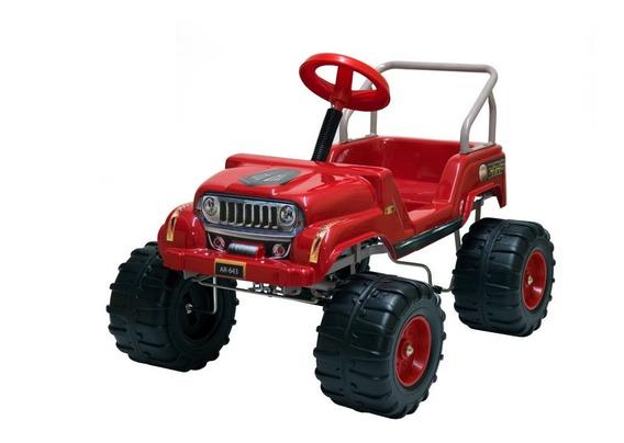 Karting A Pedal Jeep 4x4 Infantil Carrocería Pvc Súper (643)