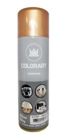 Tinta Spray Colorart Metálicos Ouro Rose / Gold / Bronze
