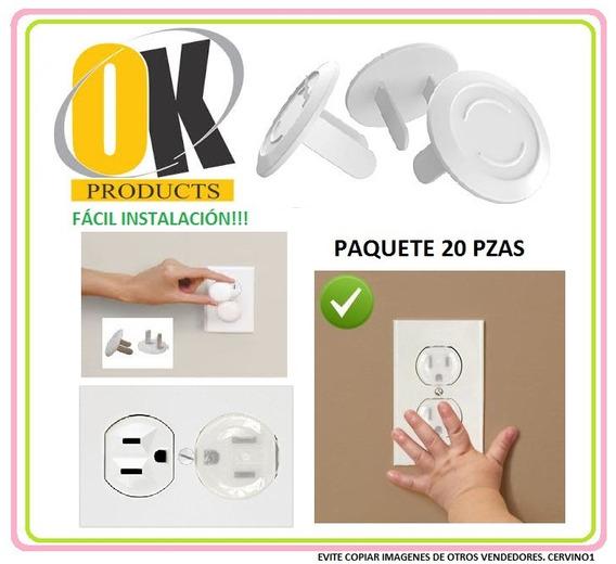 Protectores Enchufe Tomacorrientes Ok Products 20 Piezas