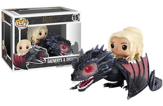 Funko Pop! Rides Got - Daenerys & Drogon 15 Original