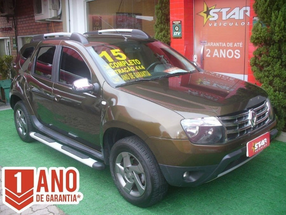 Duster 2.0 Dynamique 4x4 Flex 2015 Starveiculos