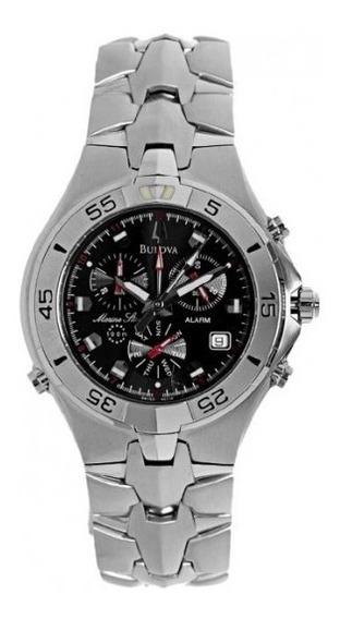 Relógio Bulova Masculino Marine Star Cronógrafo Wb30373t