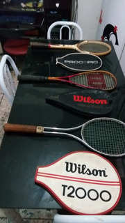 3 Raquete Procopio Davis Cup Wilson T200 Wilson Defender