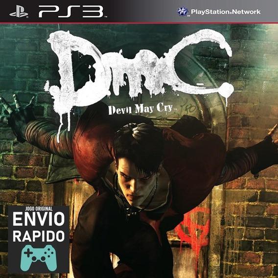 Dmc Devil May Cry - Jogos Ps3 Playstation 3 Original