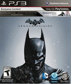 Video Juego Batman Arkham Origins Ps3 En Disco Original