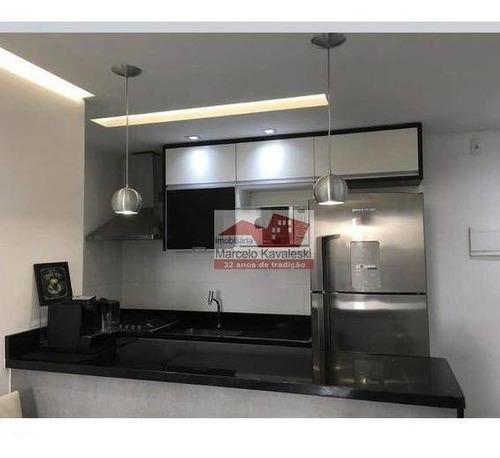 Apartamento Com 3 Dormitórios À Venda, 63 M² Por R$ 370.000,00 - Jardim Celeste - São Paulo/sp - Ap11324