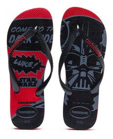Havaianas Star Wars Come To The Dark Side Vermelho Tam 45/46