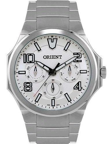 Relógio Orient Masculino Multifunção Prata Nf Mbssm043 S2sx