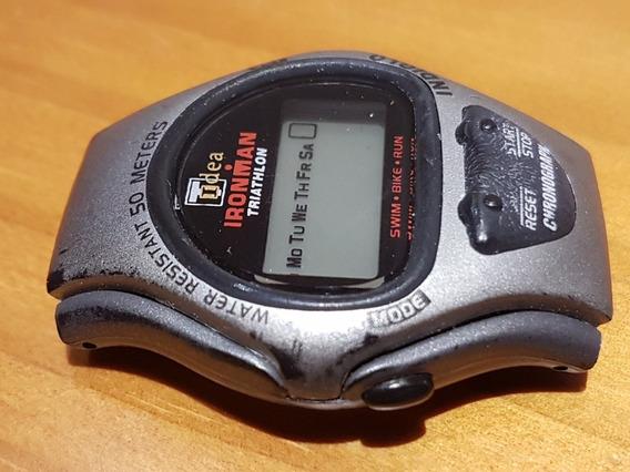 Antigo Relógio De Pulso Timex Ironman Triathlon Não Possui Pulseira No Estado Sem Garantia De Funcionamento