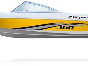 Lancha Campanili Cs160 + Yamaha 60hp 2t Oferta Temporada 18