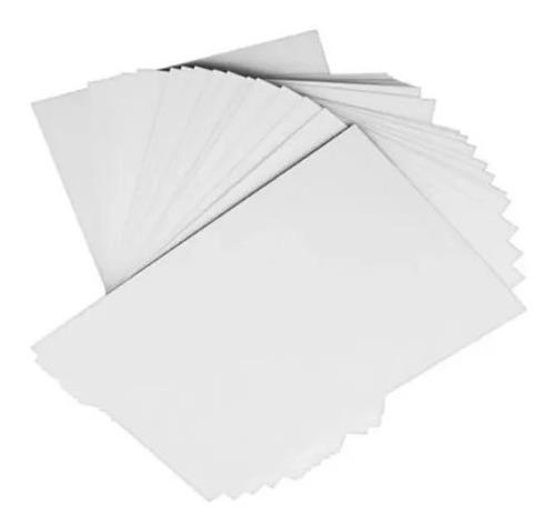 25 Folhas Papel Adesivo A4 | Etiqueta Mercado Livre