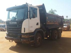 Caminhão Scania Basculante G 440 Cb6x4, Ano/modelo 2012/12
