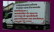 Fretes Carretos/mudanças/montador De Moveis/11954094660whats