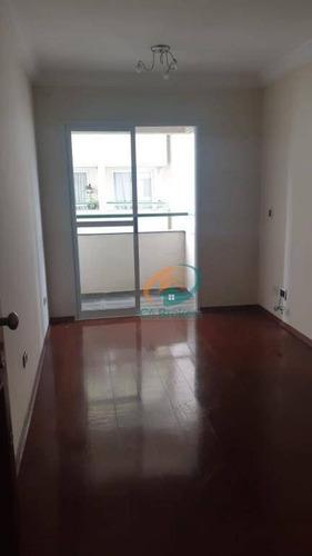 Imagem 1 de 17 de Apartamento Com 3 Dormitórios À Venda, 68 M² Por R$ 375.000 - Vila Augusta - Guarulhos/sp - Ap2499