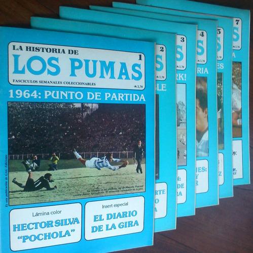 La Historia De Los Pumas - 6 Fascículos (rugby)