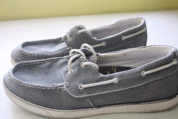 Zapatos Mocasines Color Gris Talla 29