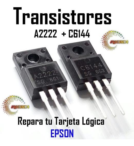 Transistores A2222 Y C6144