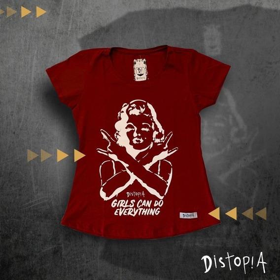 Camiseta Marilyn - Estampa Exclusiva - Distopia Store