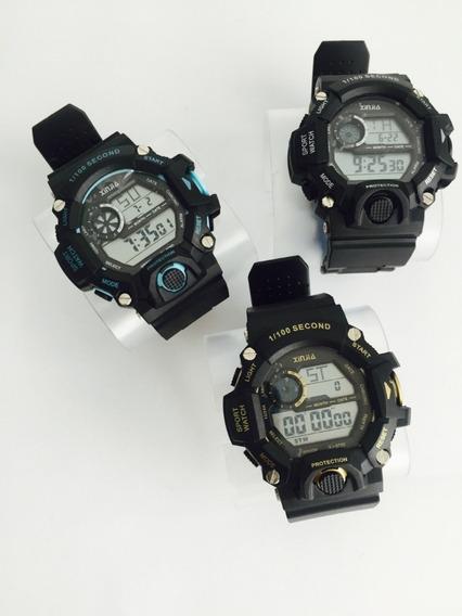 Relógio Masculino À Prova D Água Esportivo Militar Original 3 Opções De Cores